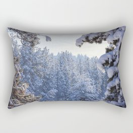 Winter Wonderland - Awbrey Meadow in Central Oregon Rectangular Pillow