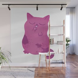 Sleepy Cat Wall Mural