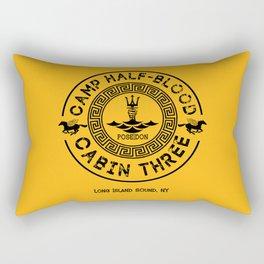 Percy Jackson - Camp Half-Blood - Cabin Three - Poseidon Rectangular Pillow