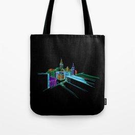Vibrant city 2 Tote Bag