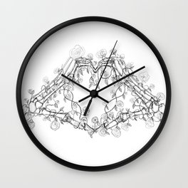 Our Love is Forever Wall Clock