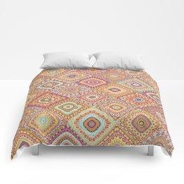 Granny's Millefiori Quilt-Spring Colors Comforters