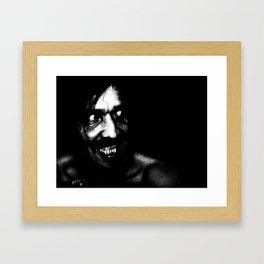 Daddy's Home! Framed Art Print