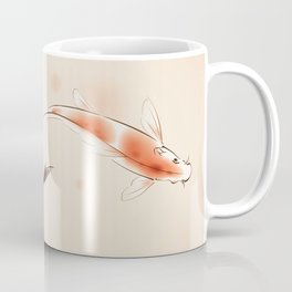 Yin Yang Koi fishes 001 Coffee Mug