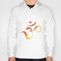om Hoodies featuring OM by Alexandra Doerge