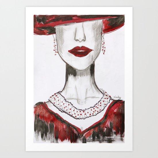 styled to impress Art Print