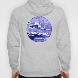 Freight train in New Westminster, British Columbia Hoody