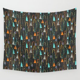 Boho Pendants Wall Tapestry