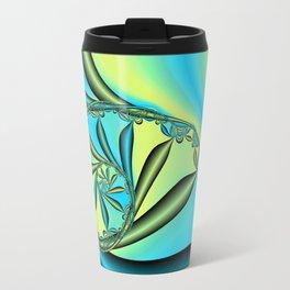 River Vine Fractal Travel Mug