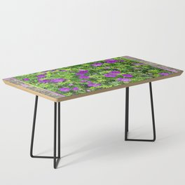 "TRUE SPECIE HARDY GERANIUM ""TINY MONSTER"" Coffee Table"