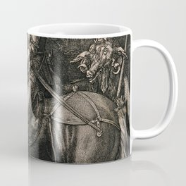 Knight Death And The Devil Albrecht Durer Coffee Mug