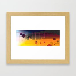Unquieted Framed Art Print