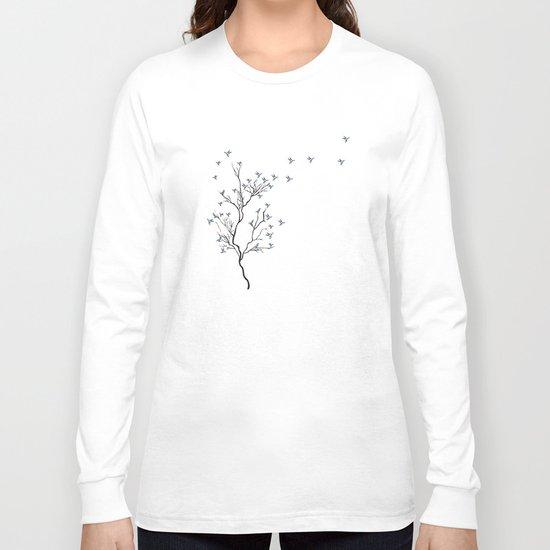 The Bird Tree Long Sleeve T-shirt