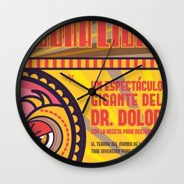 Dr. Dolor Wall Clock