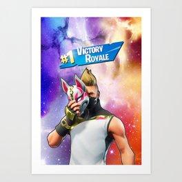 Victory royale season 5 Art Print