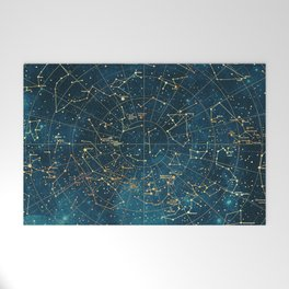 Under Constellations Welcome Mat