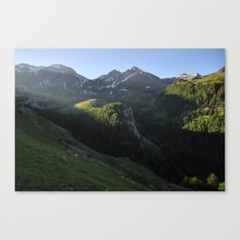 Different Day, Different Light Canvas Print