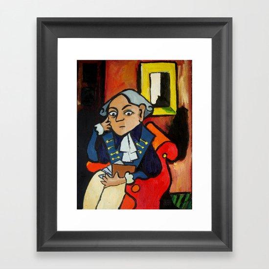 Immanuel Kant Framed Art Print