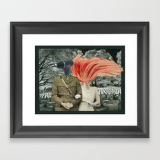 a marriage of convenience Framed Art Print