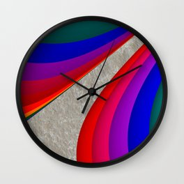 fluid -30b- Wall Clock