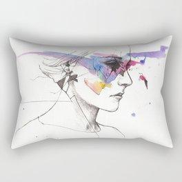 Beautiful Face Rectangular Pillow