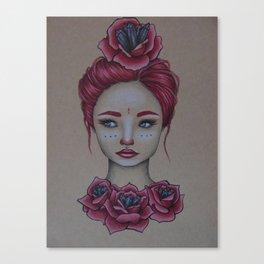 The Rose Princess Canvas Print