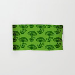 """""""Mushrooms in the Garden"""" Wonderland Style Design by Dark Decors Hand & Bath Towel"""