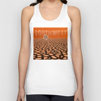 southwest Tank Tops featuring Southwest by Phil Perkins