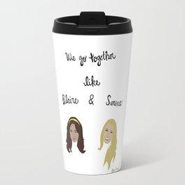 Gossip Girl Print Travel Mug