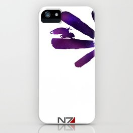 Mass Effect 1 (w/quote) iPhone Case