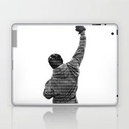 How Hard You Get Hit - Rocky Balboa Laptop & iPad Skin