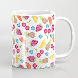 Juicy Watercolor Hand Painted Fruit Pattern Coffee Mug