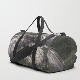 Eagle In The Snow. Duffle Bag
