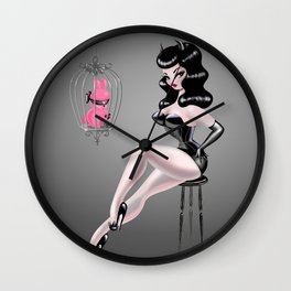Mr.Pinky's Punishment Wall Clock