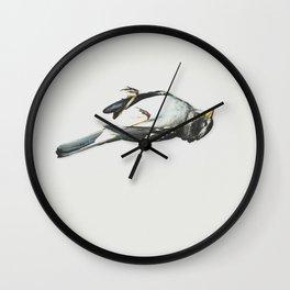 Dead Bird Momento Mori Wall Clock