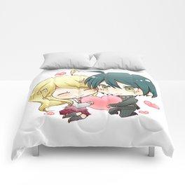 Kaede Akamatsu & Shuichi Saihara Comforters