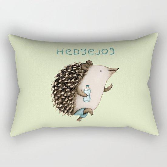 Hedgejog Rectangular Pillow