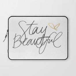 Stay Beautiful Laptop Sleeve