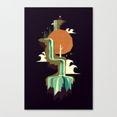 Waterfall dream Canvas Print