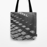 royal Tote Bags featuring Royal by Neelie