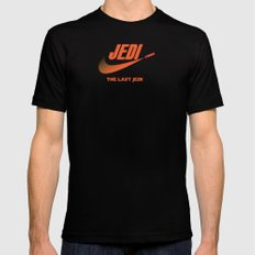 Jedi sport Mens Fitted Tee Black LARGE
