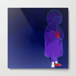 Survive, child, for your family Metal Print