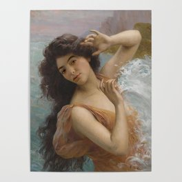 lorde in 'the water nymph' by françois martin-kavel Poster