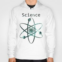 science Hoodies featuring Science by jekonu