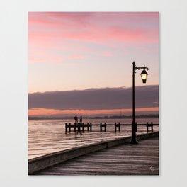 Sunset Gazing Canvas Print