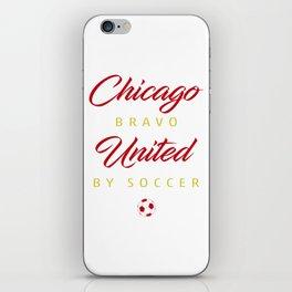 Chicago Bravo iPhone Skin