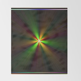 Abstract perfection - Spectrum Throw Blanket