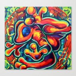 Golden Toad Canvas Print