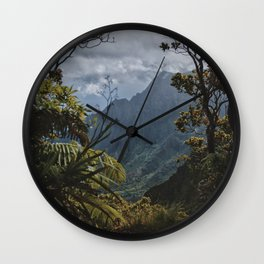 The Garden Isle Wall Clock