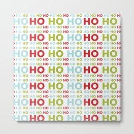 Ho Ho Ho Merry Christmas Metal Print